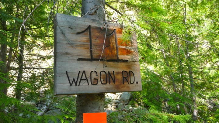 Wagon Road - 11km mark